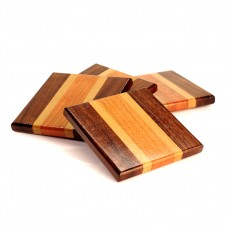 Mini Wooden Coasters