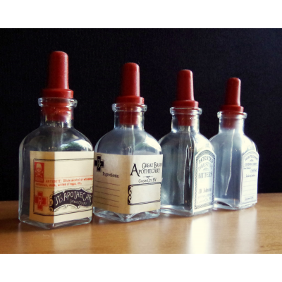 Semi-custom Printable Labels for Bitters Bottles
