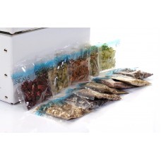 Spice packaging in plastic film