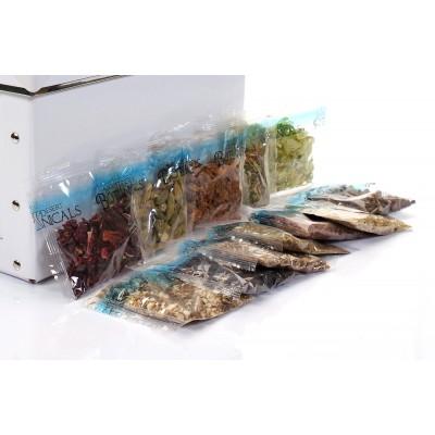 Spice packaging in plastic film