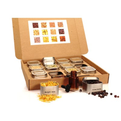 Bitters Builder Kit #1 - Orange, Lemon, Grapefruit, Rhubarb
