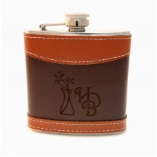 Engraved Flask with HDB logo